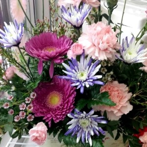Flowers at floral gift from Van Luyk Greenhouses London ON